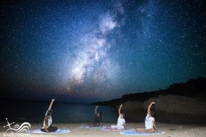 ☆星空(満月)ヨガ☆ in プライベートビーチ始めました。